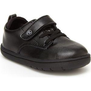 Stride Rite Srt Giles Sneaker Black Sz 6.5 M New